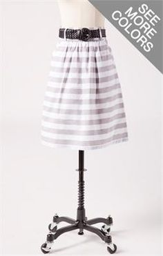 Cheaper version of horizontal stripes ($36.99)... still cute.