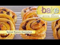 (34) Danish Pastries  | Bake with Anna Olson - YouTube
