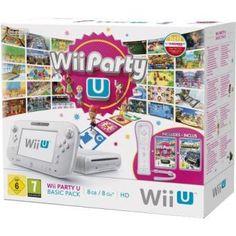 Console Wii U Basic Pack blanche 8 Go Nintendo + Wii Party U
