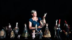 Go Behind the (Crazy-Complex) Scenes of The Boxtrolls | As the creative supervisor for puppet fabrication, Georgina Hayns, shown here with many of The Boxtrolls' puppets, has to make sure that Laika's characters look beautiful, that they fit into the world of the film, but also that they function the way the animators need them to.   Jose Mandojana  | WIRED.com