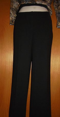 NWOT~ALFANI ~ Black~ Straight Leg, Hip Hugger Pants~Poly~Women's Sz 2 P in Clothing, Shoes & Accessories, Women's Clothing, Pants | eBay