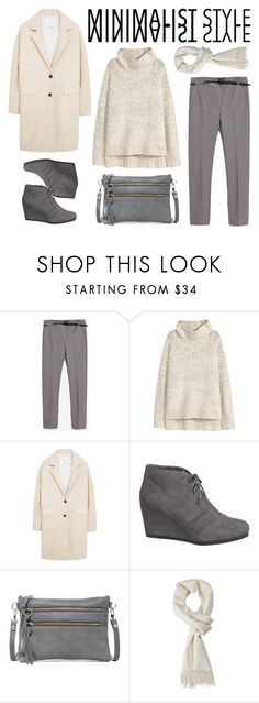 """Minimalist Style - Contest"" by by-jwp ❤ liked on Polyvore featuring Zara, H&M, MANGO, maurices and Luciana Verde"