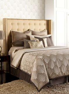 Jennifer Lopez bedding collection Gatsby 3-pc. Duvet Cover Set