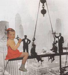 "Saatchi Art Artist Deborah Stevenson; Collage, ""Best Date Ever"" #art"