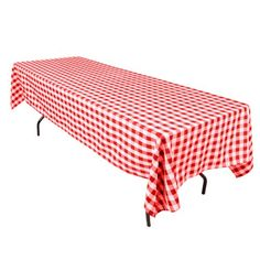 60 x 126-Inch Rectangular Tablecloth