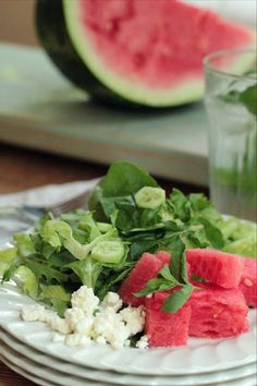 Watermelon salad. #ingredientmonth