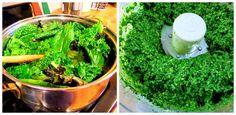 Kale and almond pesto