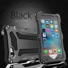 Enjoy your worry-free time while swimming, boating or skiing, etc with this IP68 Gundam Four-proof Waterproof Gorilla Glass Metal Aluminum Case For Apple iPhone 6S/6 & iPhone 6S Plus/6 Plus - Water Pr