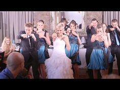 Byron and Meagan's Wedding Flash Mob - YouTube