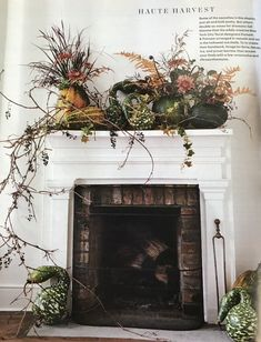 Putnam & Putnam create an autumn display for Martha Stewart Martha Stewart Halloween, Martha Stewart Fall, Martha Stewart Thanksgiving, Thanksgiving Mantle, Thanksgiving Decorations, Christmas Decorations, Holiday Decor, Pumpkin Canvas Painting, Autumn Decorating