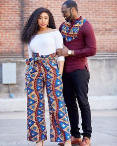 10 Couples Pre-Wedding Ankara Styles Ideas