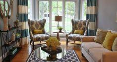 A Living Room Makeover  | Homesessive.com