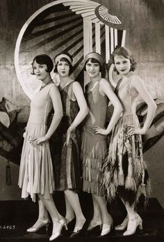 History of Women's Fashion, 1920-1929