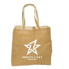 Reversible Jute Tote Bag (6oz)