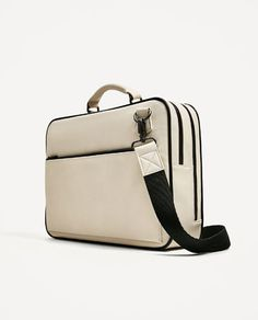 Image 2 of SMART DOUBLE ZIP BRIEFCASE from Zara