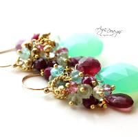 """Projects from """"Wire-Wrapped Stones, Crystals & Clusters"""""""