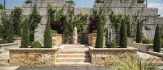 Stone Walls, Fountain, Outdoor Decor, Home Decor, Concrete Wall, Paredes De Piedra, Water Fountains, Interior Design, Home Interior Design