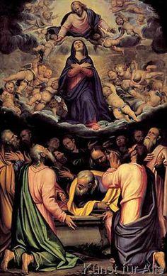 Moretto da Brescia - The Assumption of Mary