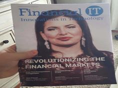 Dr. Ruja Ignatova In Financial IT Magazine 2016
