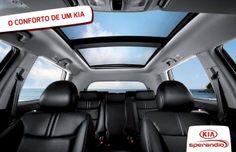 Venha conhecer o conforto de um Kia. #NasNuvens #KiaSperandio