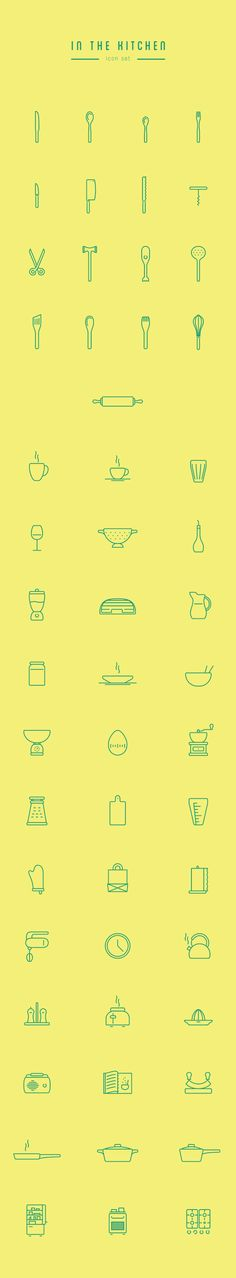 Set of 53 vector icons. Free download available. Enjoy it!