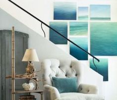 Looking for best feng shui colors for a room but don't have the time to define your home bagua?  Our quick feng shui color guide will help.: North Room Colors