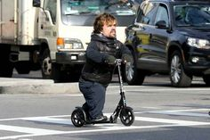 "And then riding a Razor scooter: | Seeing The ""Game Of Thrones"" Cast As Normal Humans Is Still Completely Mesmerizing"
