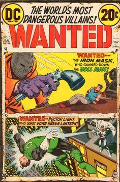 Wanted The World's Most Dangerous Villains Comic #5  Publisher: DC Comics  Date: January 1973
