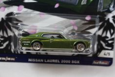 Hot Wheels *Japan 2 Historics* Nissan Laurel 2000 SGX  NEW 4/5 2017 #HotWheels #Nissan