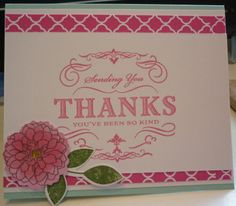 Papertrey ink a big thank you limited edition stamp -