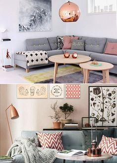 Fashion Killer: Ideias de decor para salas pequenas