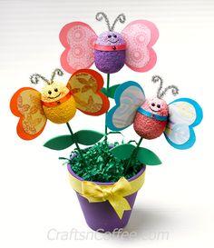 Foam Butterfly Bouquet | Fun Family Crafts