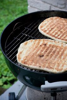 Grilled Pizza - so easy and a summer tradition at my house