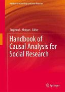 Handbook of causal analysis for social research. /  Springer, 2013
