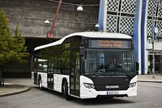 Scania has unveiled its first all-electric bus, the Citywide LF from the 2017 Busworld in Kortrijk, Belgium, which will go on sale next year. Dvb Dresden, Bus Coach, Bus Station, Electric Car, Buses, Trucks, City, Urban, Future