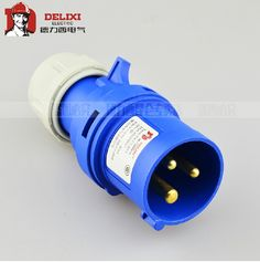Heavy Duty Waterproof 16A 3plugs Connectors of DELIXI #Affiliate
