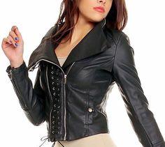Damen Kunstlederjacke schwarz von B.Emilie, http://www.amazon.de/dp/B00C5ALIX6/ref=cm_sw_r_pi_dp_xPINrb0P72ZZ0