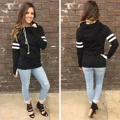 Only ONE medium left in this double hooded, super comfy, pullover sweatshirt! ( Also available in navy/heather grey stripes) - $56 #springfashion #spring  #fashionista #shoplocal #aldm #apricotlaneboutique #apricotlanedesmoines #shopaldm #desmoines #valleywestmall #fashion #apricotlane #newarrival  #shopalb  #ootd #westdesmoines  #shopapricotlaneboutiquedesmoines #ontrend