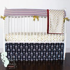 Florida State University (FSU) Designer Created Crib Set Girl Baby Bedding D Baby Boy Bedding Sets, Baby Girl Crib Bedding, Custom Baby Bedding, Baby Crib Bedding Sets, Crib Sets, Designer Baby Blankets, Baby Bumper, State University