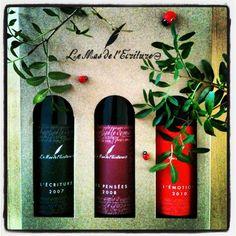 Plaisir d'offrir du vin du Languedoc : mas de l'Ecriture.