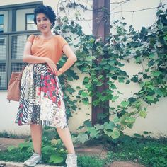 Floral, Skirts, Fashion, Pine Tree, Moda, Fashion Styles, Flowers, Skirt