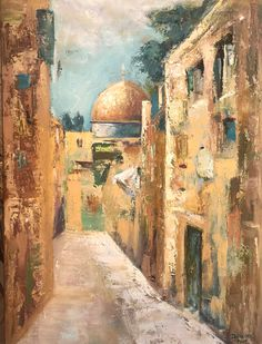 I Dream of Jerusalem Jerusalem, Ali, Painting, Painting Art, Ant, Paintings, Painted Canvas, Drawings