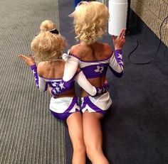 Spirit of Texas; madison hayes on left Bailey vaughan on the right
