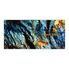 Turquoise Rock Custom Binder