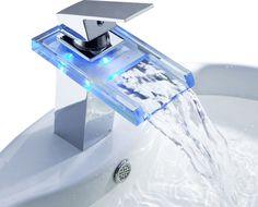 Temperature Sensitive LED Faucet - $43 | technology | Pinterest ...