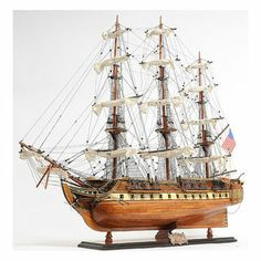 Old Modern Handicrafts USS Constitution Exclusive Edition Model Ship | Overstock.com