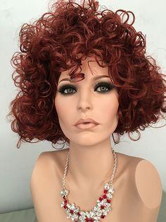 Glamorous, Curly UpDo.