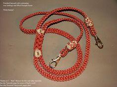 9 - strand  double braid lanyard