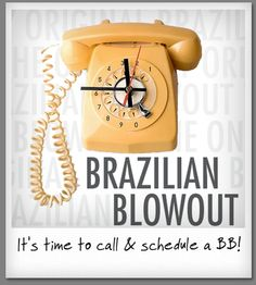 The Brazilian Blowout is an amazing straightener, smoother, split end mender -- come see us- schedule you're today!   Schedule with one of the stylists at Salons at Stone Gate in Cypress/NW Houston ~ (281) 256-2204 ~www.salonsatstonegate.com #brazilianblowout #hairstraightener #hairsmoother