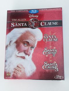 The Santa Clause Movie Collection on Blu Ray #Giveaway